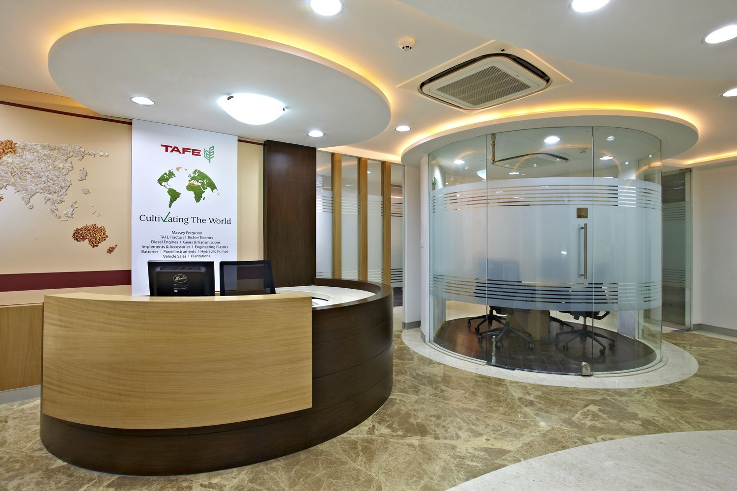 corporate office interior. Resaiki Is One Of The Leading Architectural And Interior Designers Company In Delhi NCR For Your Home Office Design. We Offer A Comprehensive Range Corporate