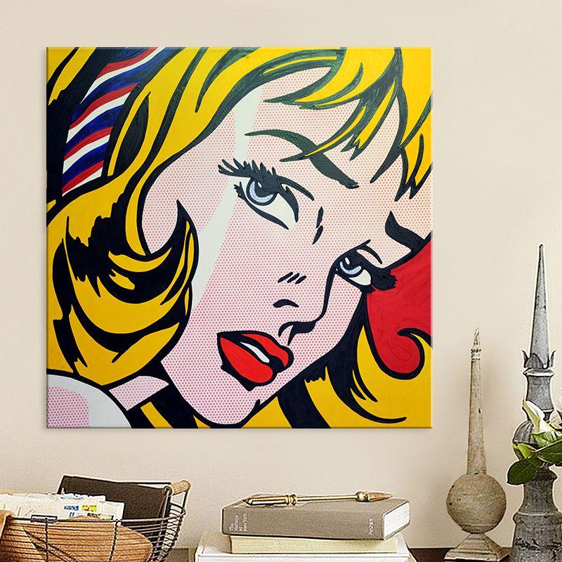 Roy Lichtenstein Pop Art Hand Painted Painting Pop Art Animals Roy Lichtenstein Pop Art Lichtenstein Pop Art