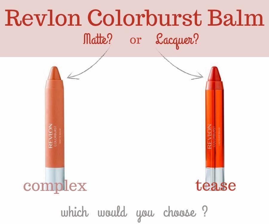 Revlon ColorBurst Matte Balm & Lacquer Balm