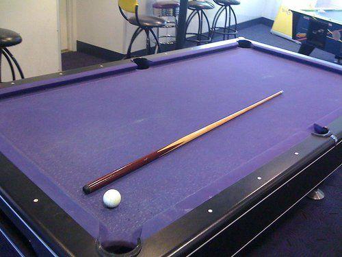 We will definitely have a purple pool table D R E A M H O M E