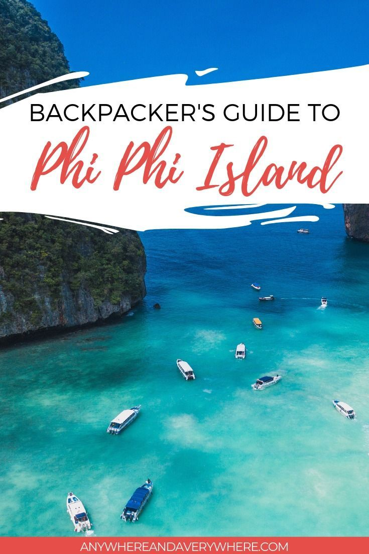 Backpacker's Guide to Phi Phi Island: Things To Do + Where To Stay #backpackingthailand