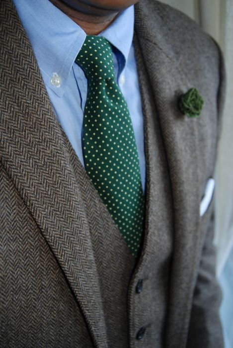 tweed suit | Mens outfits, Mens fashion blog, Light blue