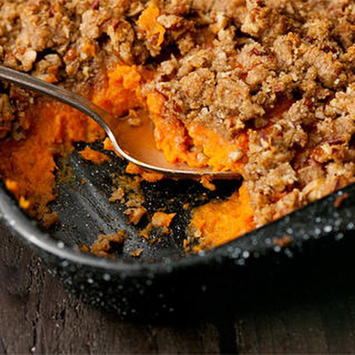 Mashed Sweet Potato Casserole With Bourbon Recipe Side