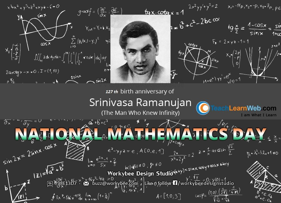 happy national mathematics day teachlearnweb com  essay on srinivasa ramanujan essay on srinivasa ramanujan essay character