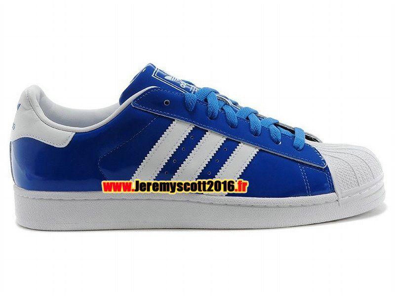 superstar homme adidas bleu