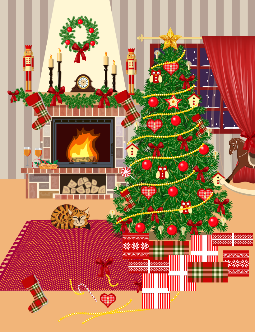 I have designed my own Christmas tree to enter Hayes