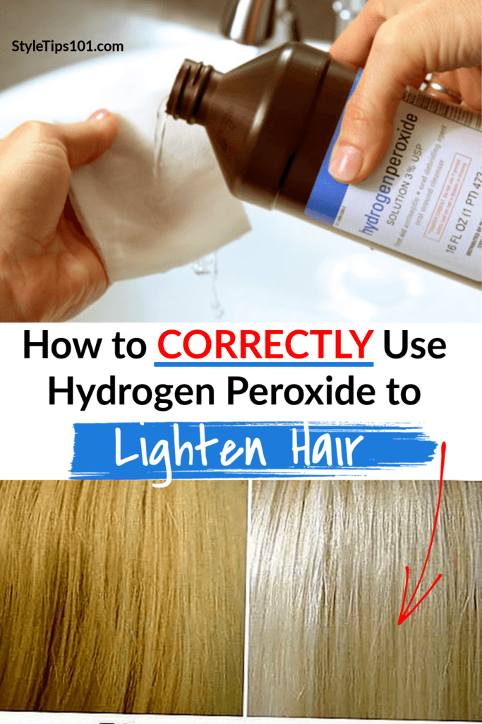 Before You Dive Head First You Need To Learn The Ins And Outs Of Using Hydrogen P How To Lighten Hair Hydrogen Peroxide Hair Lightening Hydrogen Peroxide Hair