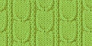 № 51 Косы — узор для детского свитера спицами