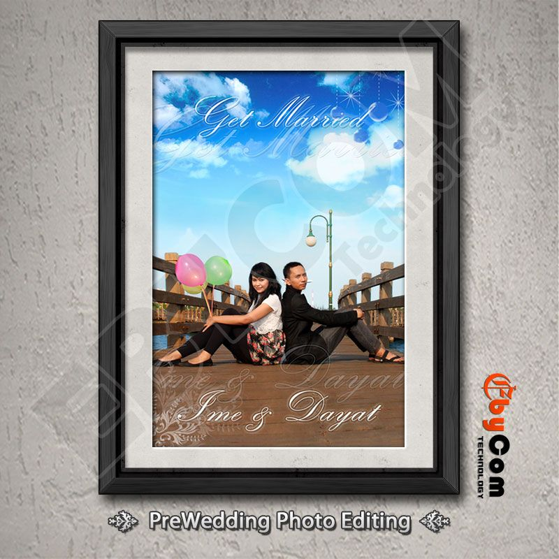 Jasa Pembuatan Desain Foto untuk masa sebelum pernikahan ...
