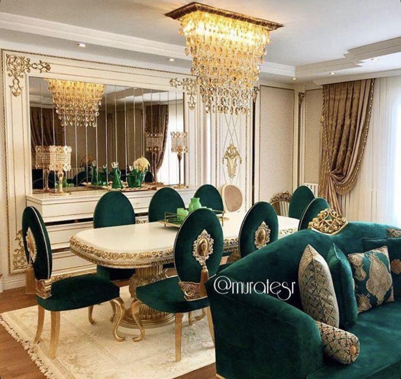 طاوله طعام Luxury Dining Room Luxury House Interior Design Home Design Living Room