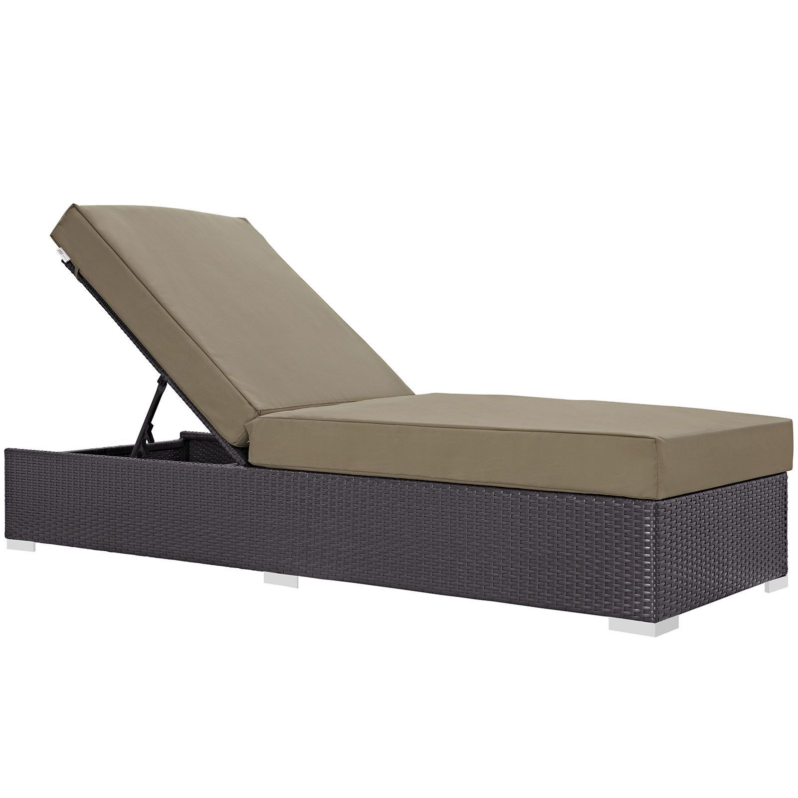 Buy Convene Outdoor Patio Chaise Lounge at ModelDeco for only
