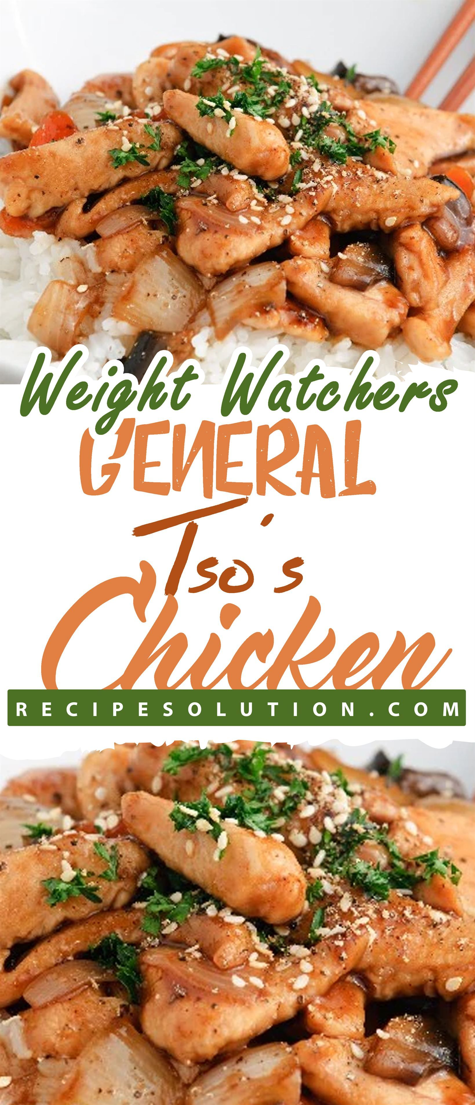 Weight Watchers General Tsos Chicken!!! -- LOSS MEALS | Best healthy recipes including healthy breakfasts lunches dinners and snacks.