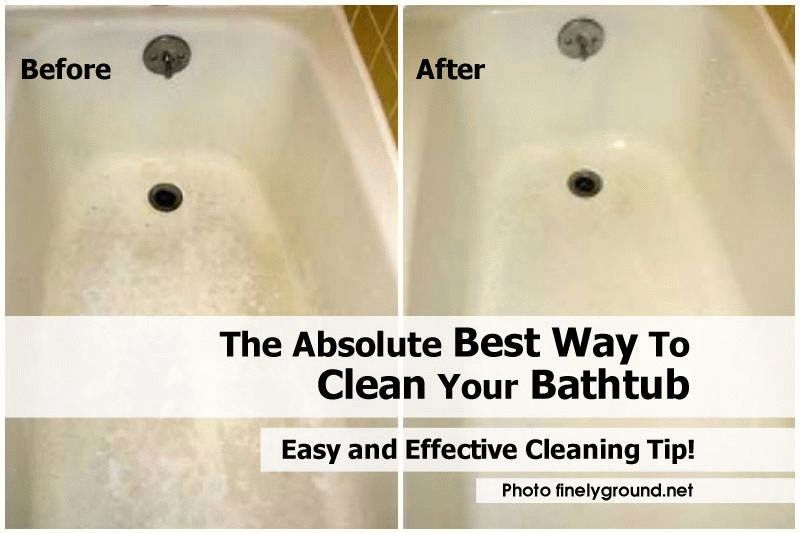 How To Clean Your Bathtub In An Absolute Best Way Clean Bathtub