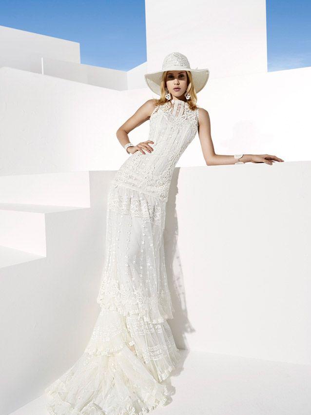 vestidos de novia ibicencos. Boho Girl Novias 2014 | Vestidos de ...