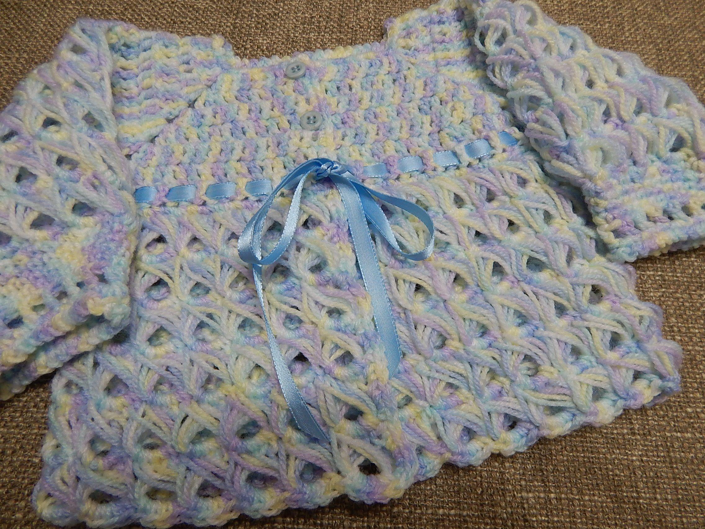 Suéter Bebe 0-3 Meses Crochet | Bebe | Pinterest | Suéteres, Bebe y Bebé
