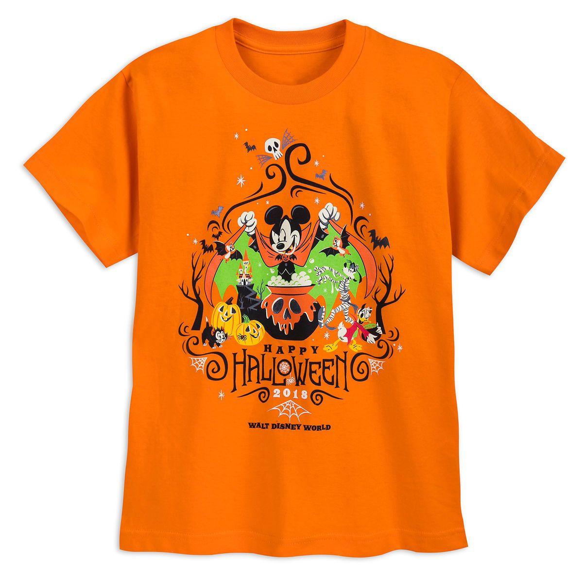 Walt Disney World Halloween T Shirts.Mickey Mouse And Friends Halloween T Shirt For Kids Walt Disney