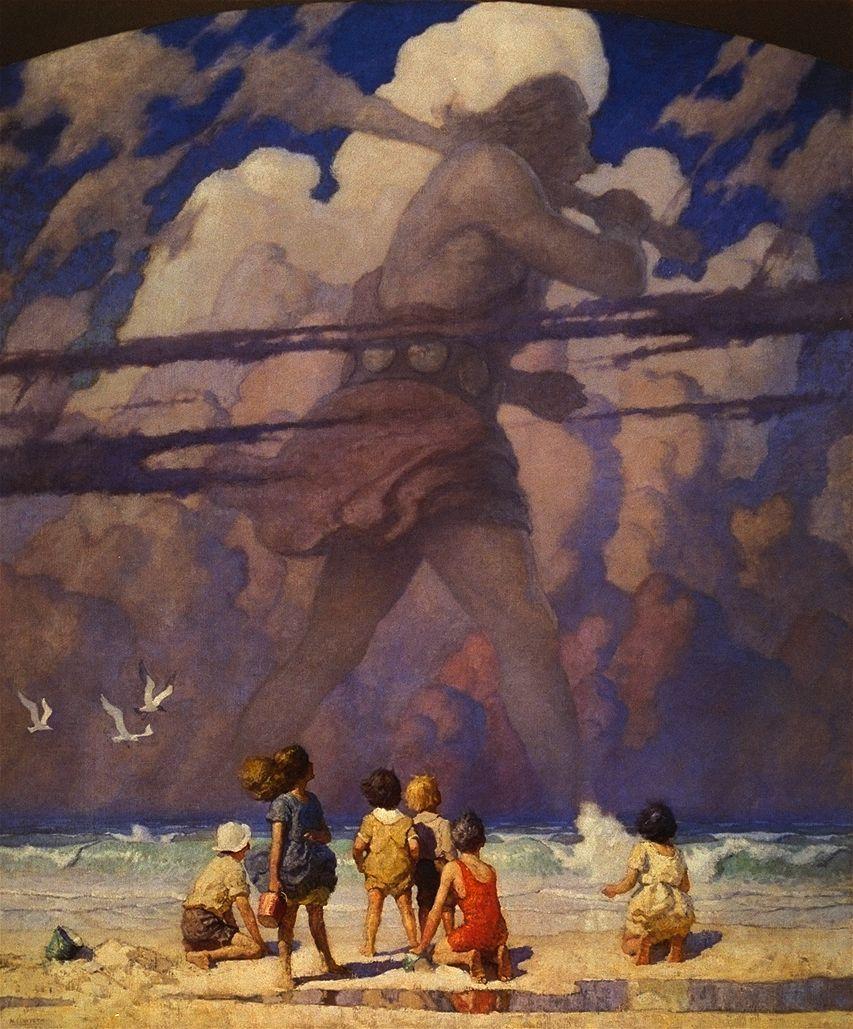 The Giant, by  N. C. Wyeth.