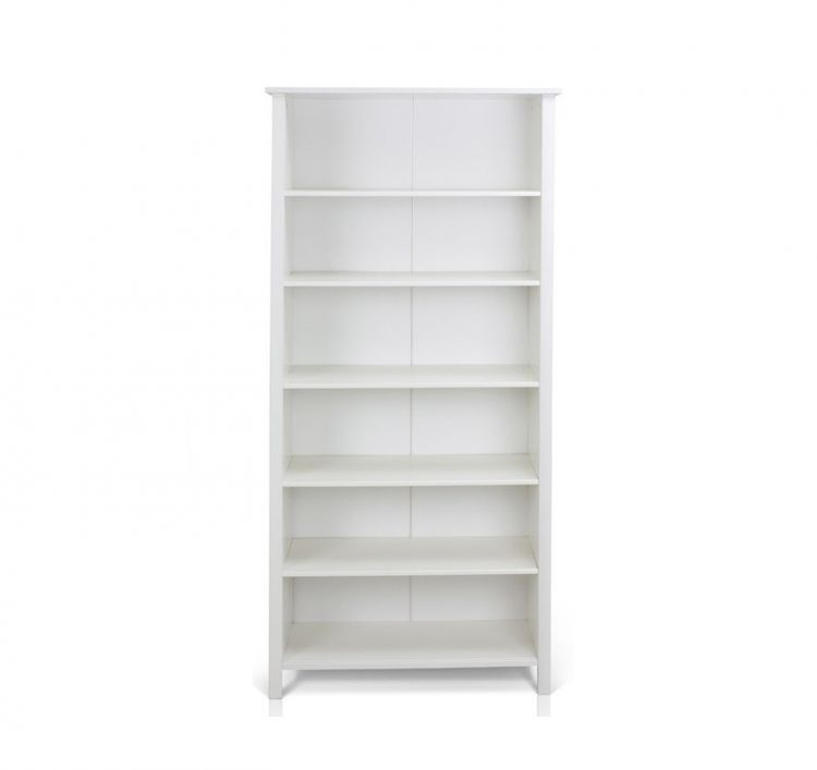 This Simple And Elegant Whitmore Wide Book Case Provides Excellent Storage  In A Limited Space.