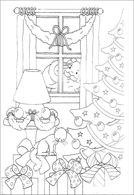 Ausmalbilder Weihnachten 4 Coloring Christmas Ausmalbilder