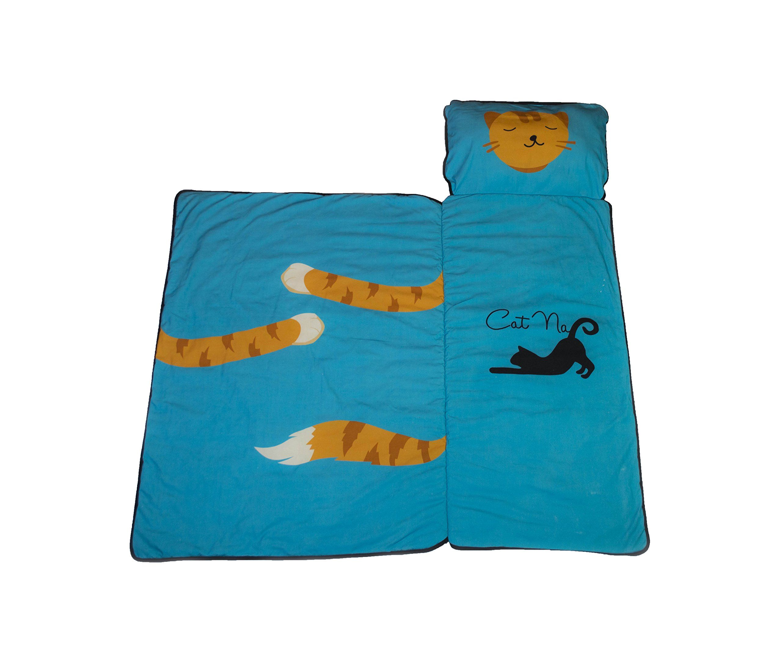 Cat Nap Mat For Toddlers Indoor Outdoor Mat Ocean Blue Built In Blanket For Babies And Toddlers Want To Know More Click On Th Cat Bed Cat Nap Cat Clothes