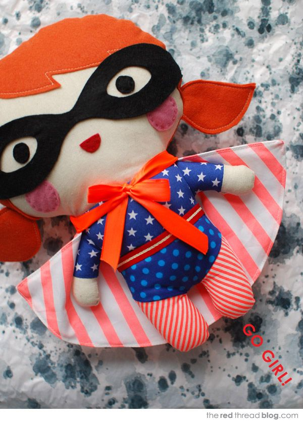 Tutorial Make Your Own Superhero Softie Make Your Own
