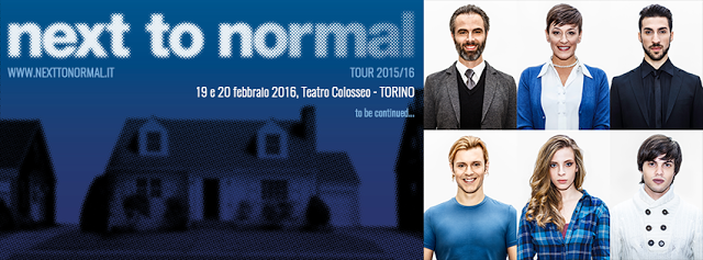 Riflettori su...di Silvia Arosio: Next To Normal, la prima data confermata