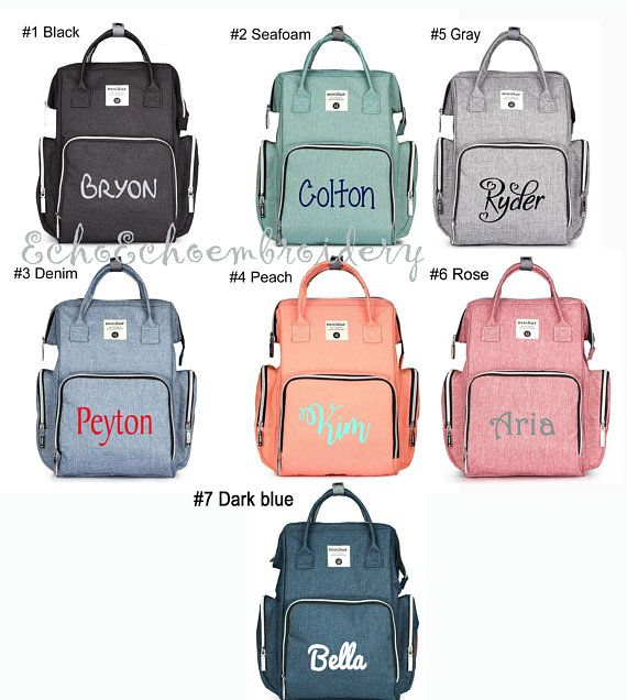 Large Capacity Bags for Boys /& Girls,diaper bag backpack Personalized Diaper Bag Backpack Neutral Travel Back Pack