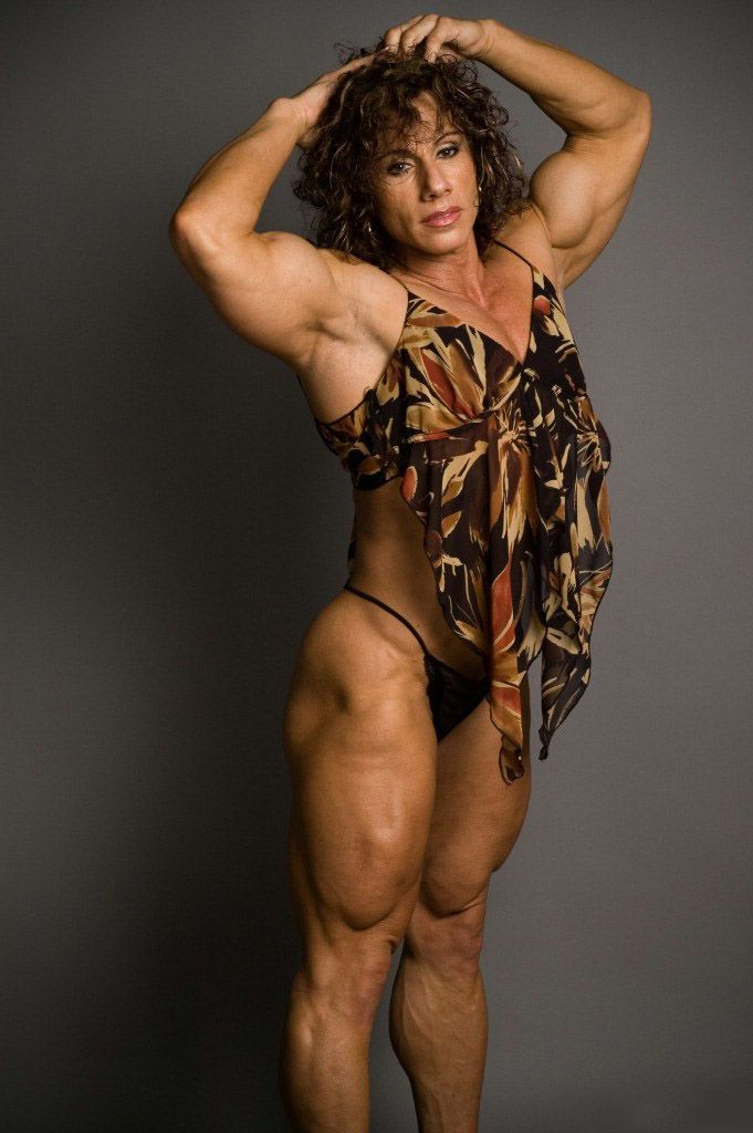 Annie Rivieccio  Muscle Girls  Muscle Girls, Sexy Older -2816