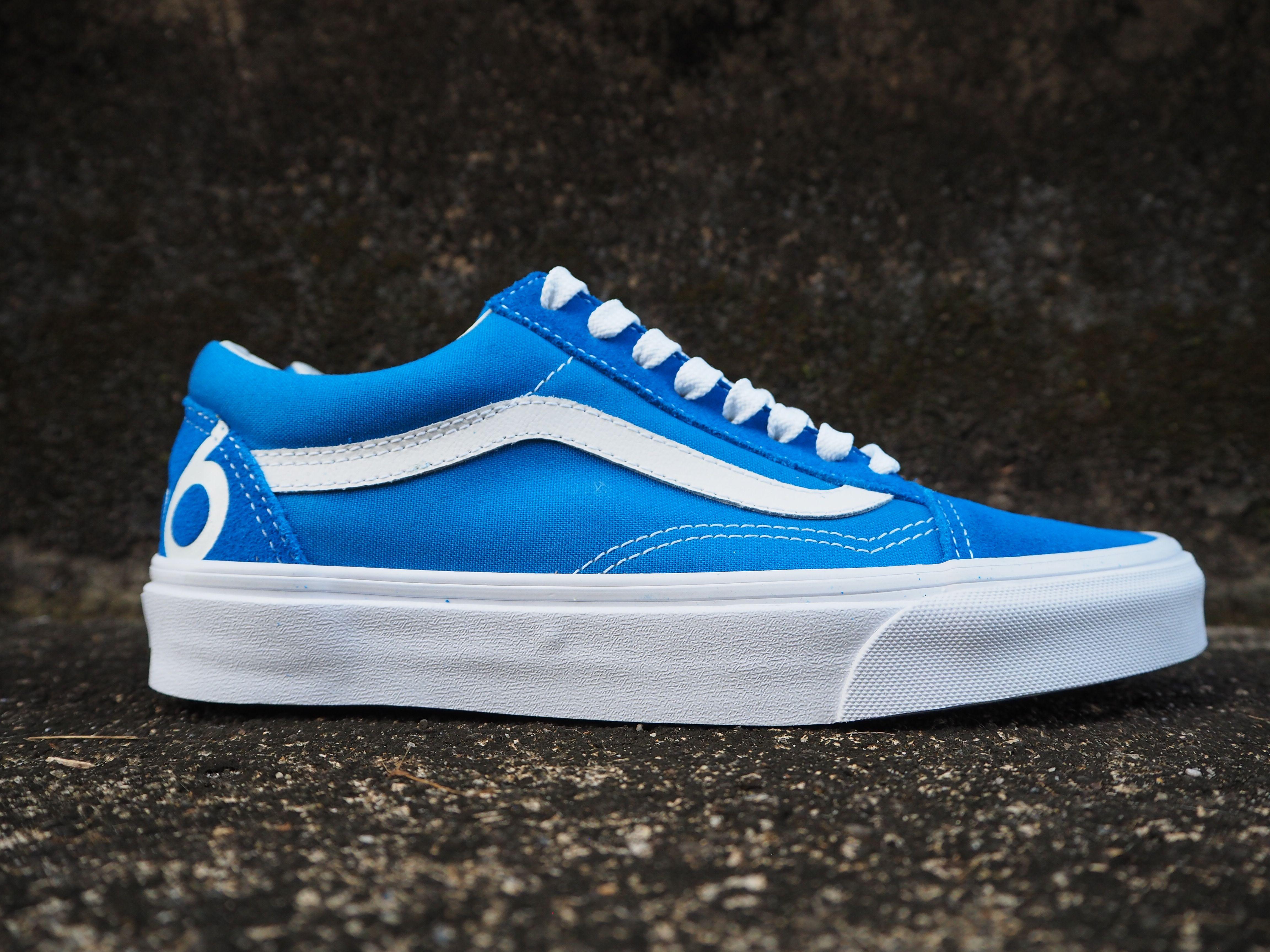 Vans Old Skool (1966) blue… | Blue vans, Sneakers, Vans old