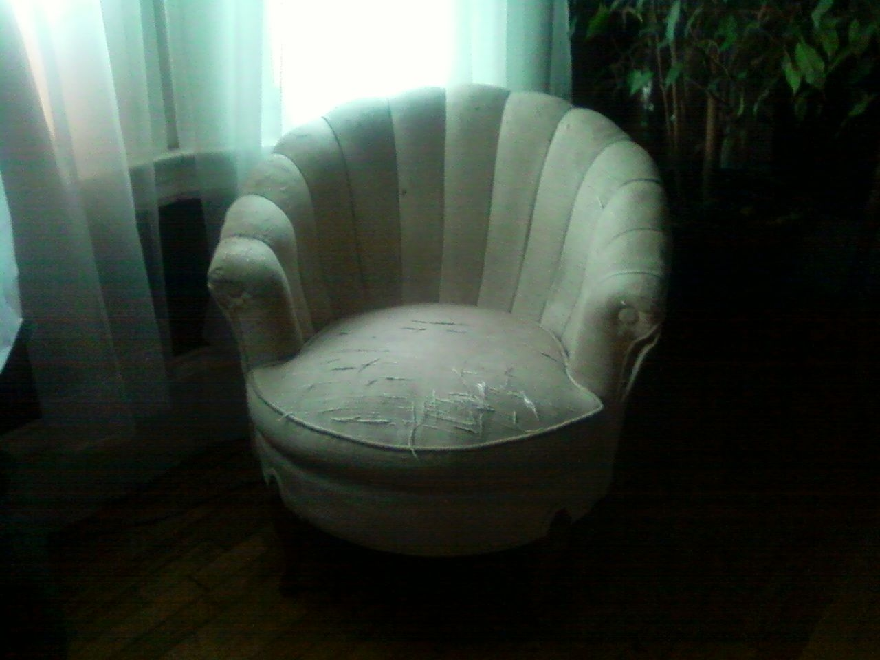 Sea Shell Shaped Chair Reupholstery Projects Chair