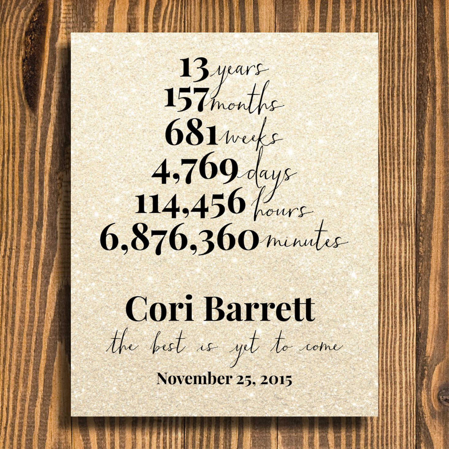 retirement gift | years at company | gift for boss | personalized