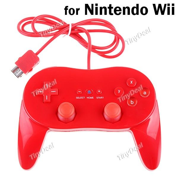 Wii filaire classique Controller Pro pour Nintendo Wii ...