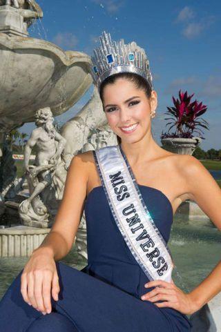 Bộ ảnh đầu tiên của Hoa hậu Hoàn vũ 2014 http://bit.ly/1yXLBqX