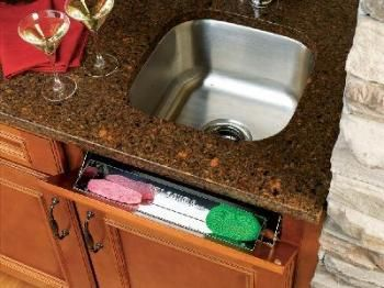 10 Inch Stainless Steel Tray W Hinges Tip Out 6581 10 52 Rev A Shelf Stainless Sink Metal Door