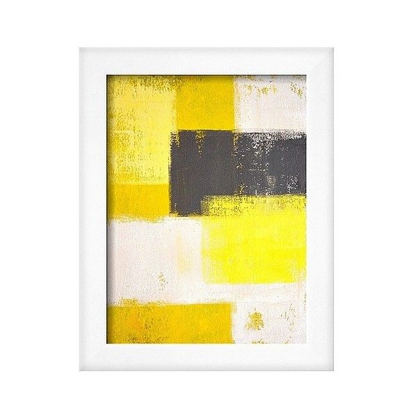 Art.com Framed Wall Poster Print Grey And Abstract ($100) ❤ liked ...