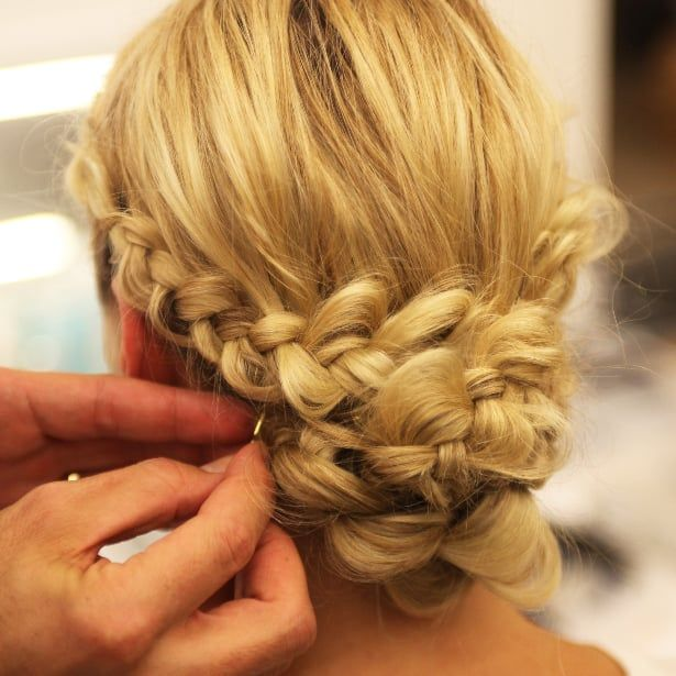 Do It Yourself Wedding Hairstyles: From The Runway, A Braided Chignon You Can Do Yourself