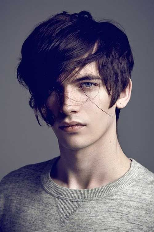Hairstyle For Long Face Men Hair Styles Pinterest Character