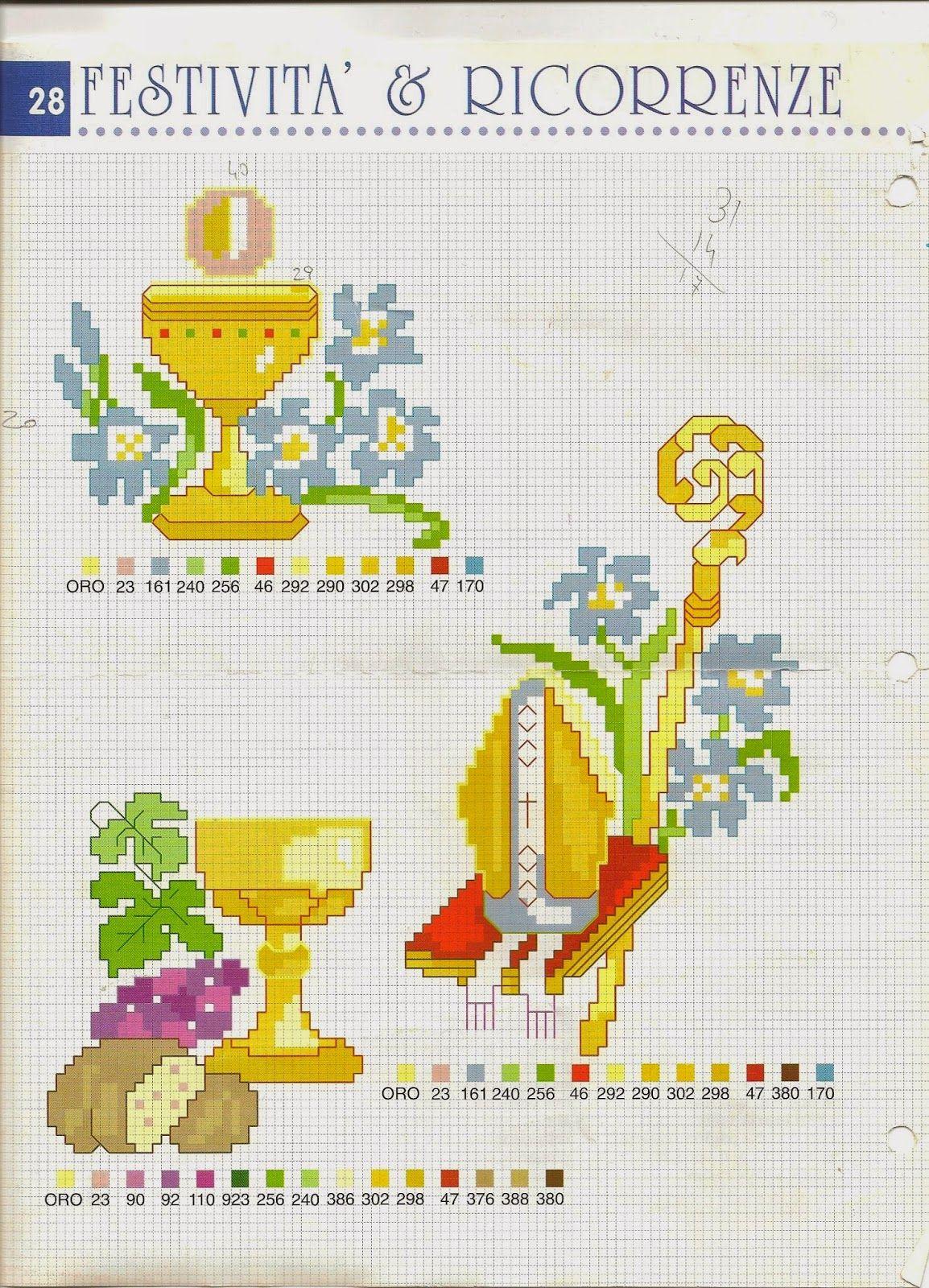 Bien-aimé Schemi gratis da realizzare a Filet Punto Croce Maglia Uncinetto e  PT45