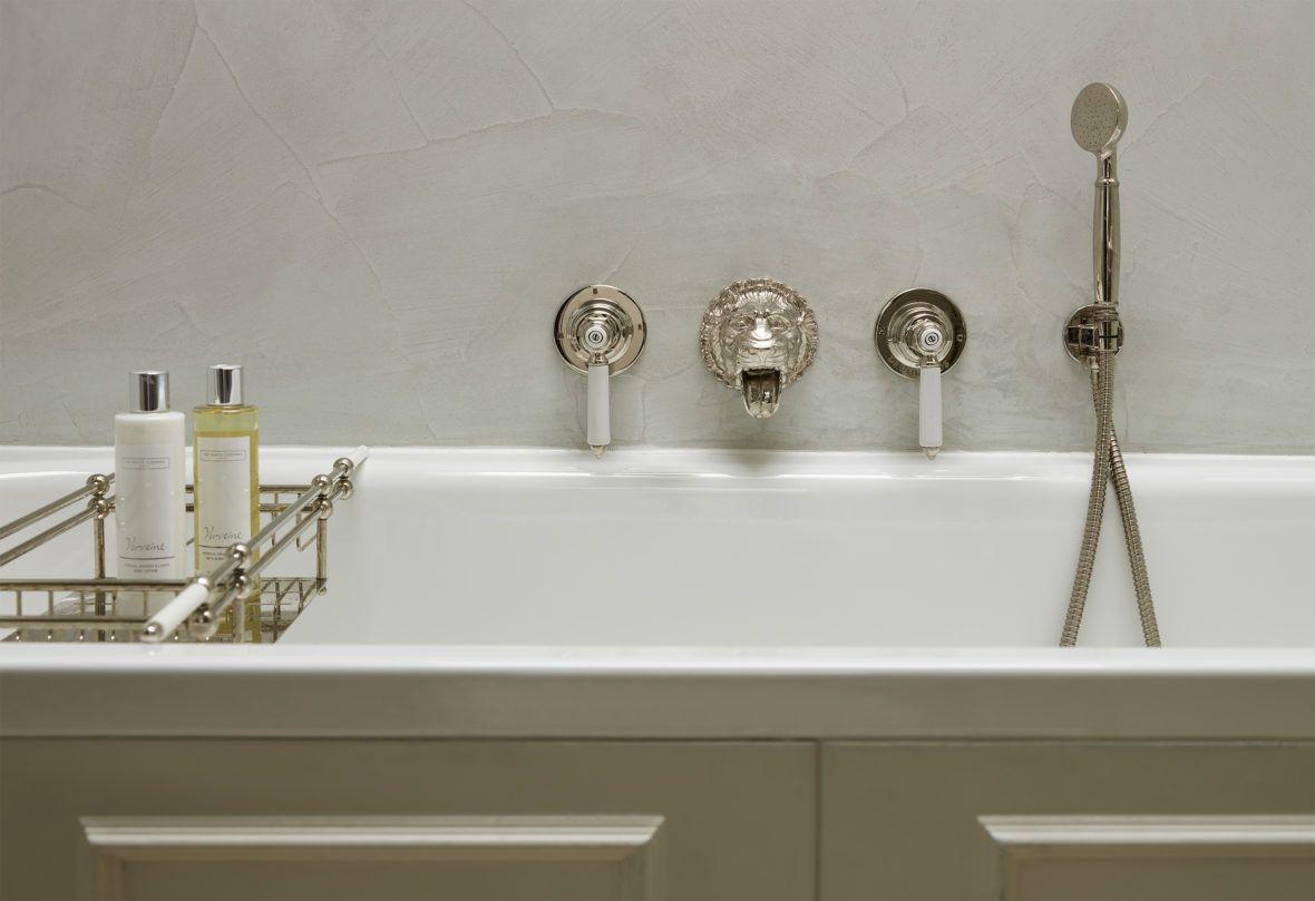 Four storey pimlico townhouse lion bath filler bathroom