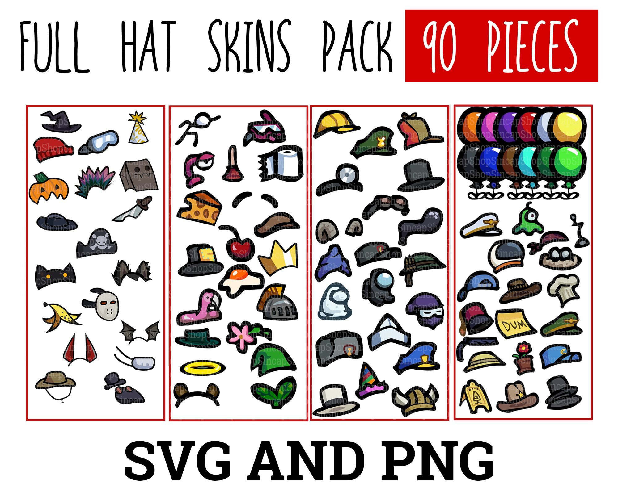 Pin On Among Us Vector Pack Svg Eps Pdf Png Jpg