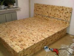 Elevação DIY Top Armazenamento Bed faça sua cama balcao