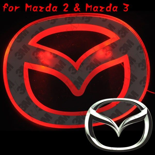 Lamp Automobile Badge Light For Mazda 2 All Things Mazda