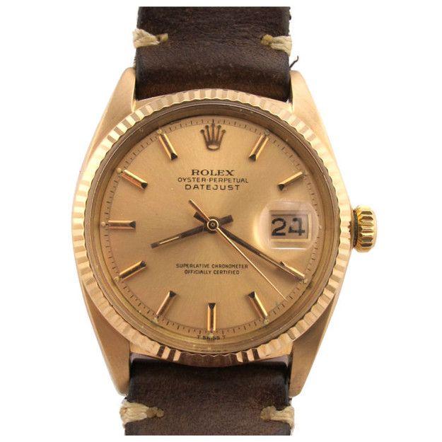66c95362b7e Vintage Rolex circa 1962- yellow gold
