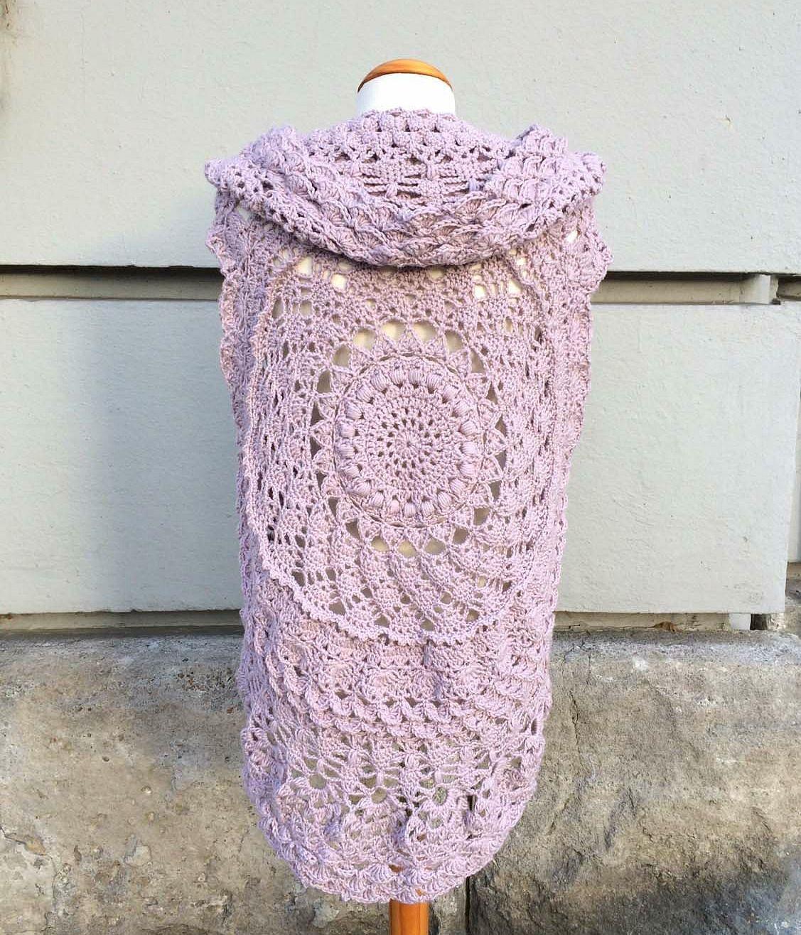 Der Kreisweste Crochetalong Verschiedenes Pinterest Crochet