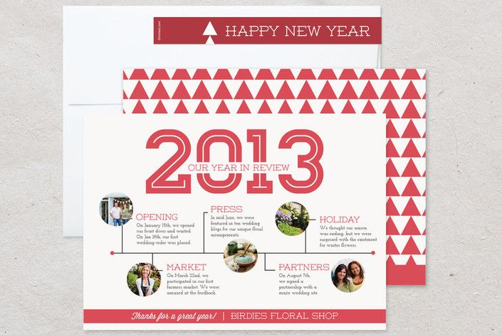 year in review card - Google Search Christmas-Inspiration - business review