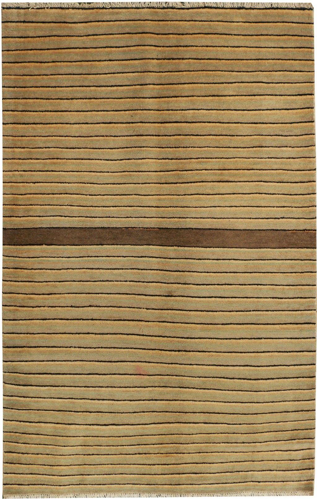 "Gabbeh 3' 11"" x 6' 1"" (ft) Contemporary rugs, Oriental"
