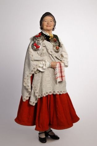 Latvian national dress