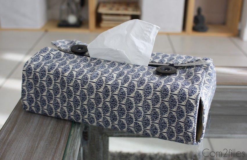 Couture facile DIY housse boite à mouchoirs | Projets
