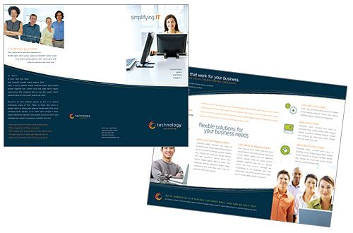 Tri Fold Brochure Sample  Brochure Sample Tri Fold Brochure And