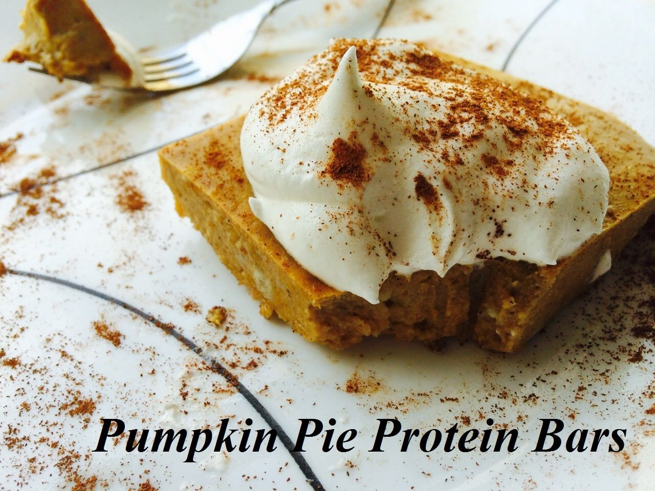 Pumpkin Pie Protein Bars- 1 Bar is only 101 Calories with 19g Protein and Under 3g Sugar!! Yum!  Click the Picture and Check out the Recipe :)
